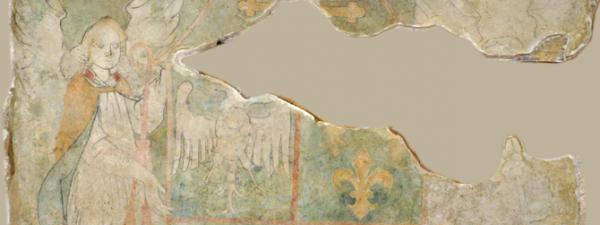 Festett reneszánsz címer